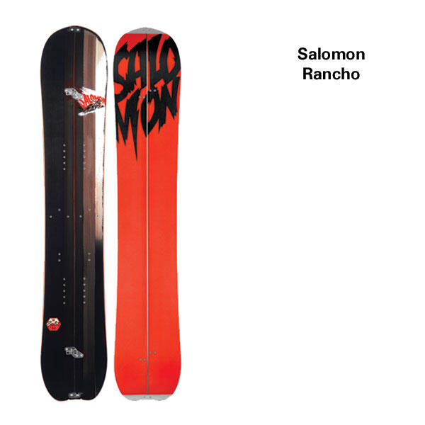 Splitboard Salomon Rancho 13-14 Overview