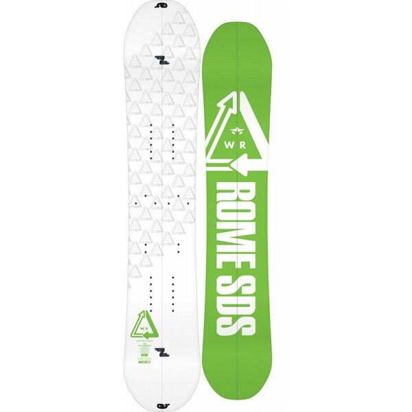 Whitroom from Rome Snoboards, the splitboard for powderlovers