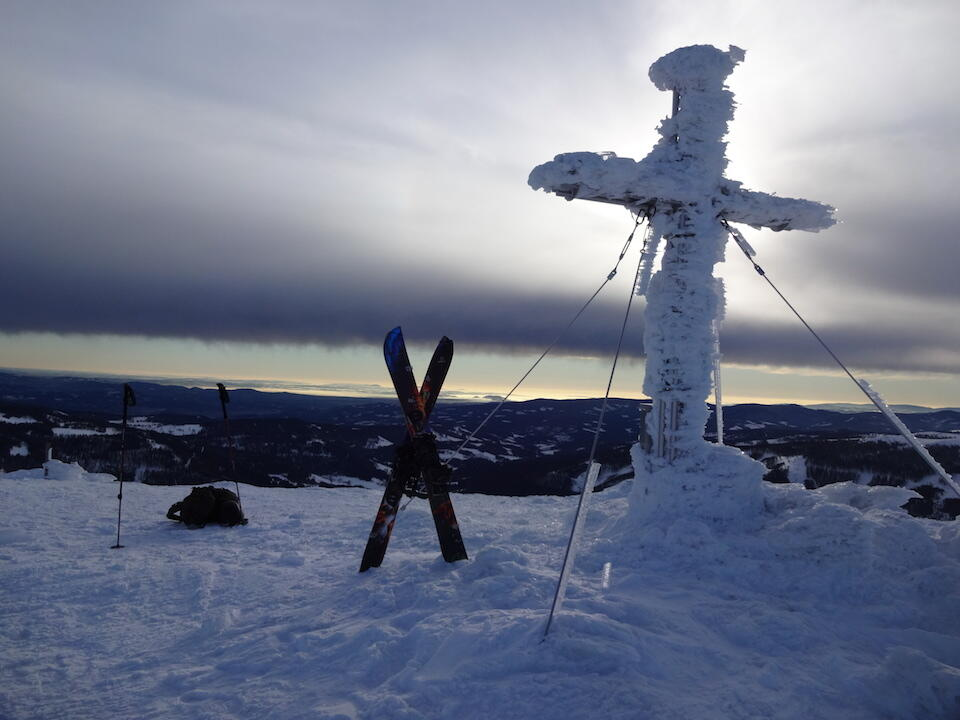 Summit cross Speikkogel