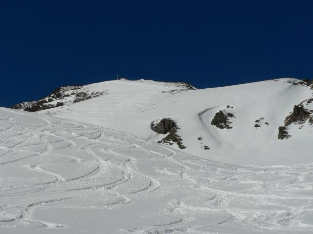 Hochalter, ascent to the top, Spitboard / backcountry skiing / Snowboardtour
