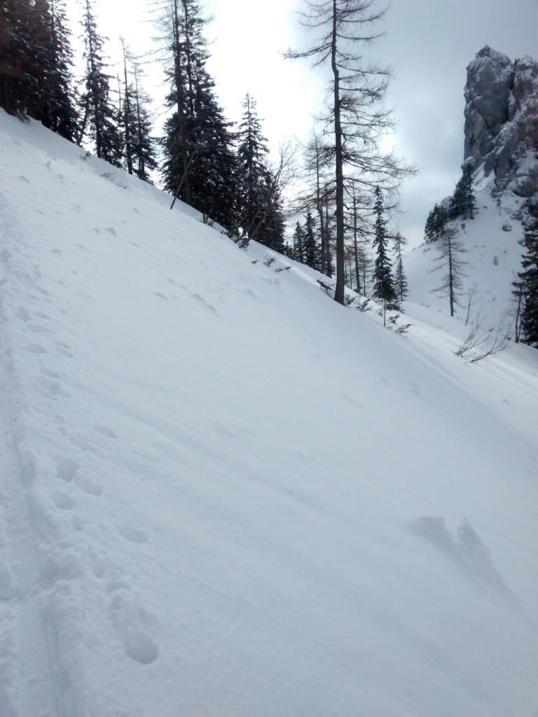 Steep section