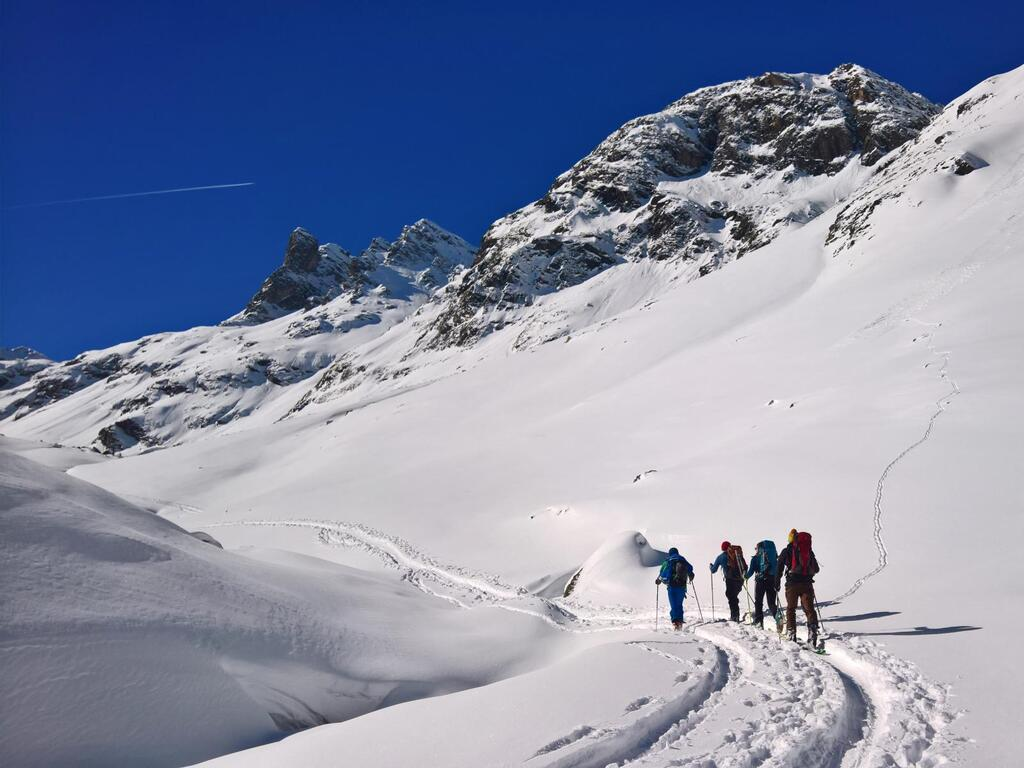 Ascent through the Klostertal.