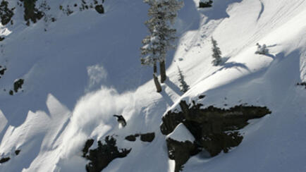 Burton Splitboard riding mit Dave Downing