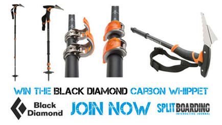 Win the Black Diamond Carbon Whippet