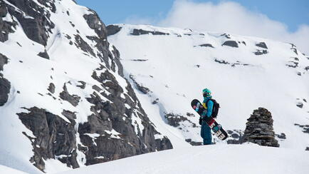 Splitboarding in Norwegen