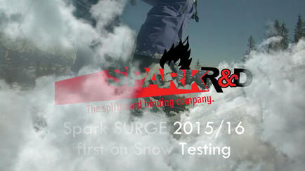 Spark R&D 2015-16 test on snow