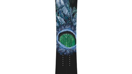 The gemini Splitboard made by icelantic