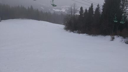 Under the chairlift