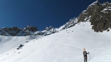 Wechnerscharte, Splitboard, backcountry route, SnowboardtourenWechnerscharte, Splitboard, backcountry route, Snowboardtouren