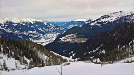 View to Mayrhofen