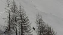 Chamois-Luck at Napfen, Splitboard / backcountry route / Snowboardtouren