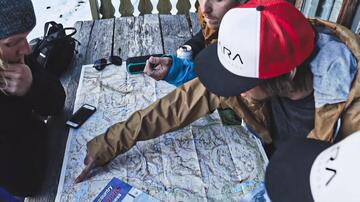 Jotunheimen map for tour planning