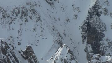 Hafelekarspitze, Decent to Gleirschkar, Splitboard /  Backcountry / Snowboardtour
