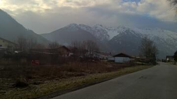 The striking Kistenkar - everyone driving towards Garmisch has seen it before.