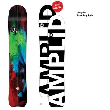 Amplid Splitboard  Morning Split 13-14 Overview