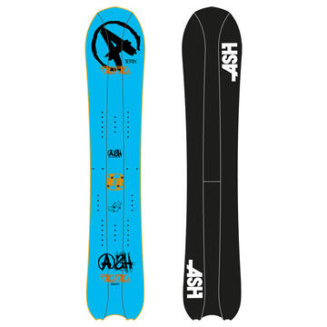 ASH Tetrix 4 part splitboard
