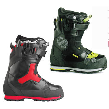 The Spark and Spark XV are durable and very sophisticated snowboard boots designed for splitboard riders