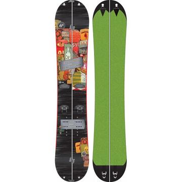 The first splitable snowboard made by K2