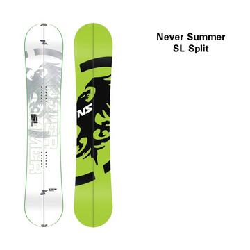 Never Summer Splitboard SL 13-14 Overview