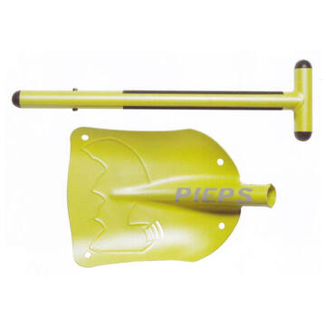 pieps avalanche shovel durable and with big blade