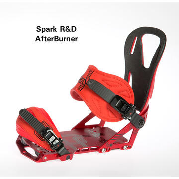 Splitboard Binding AfterBurner 13-14 red