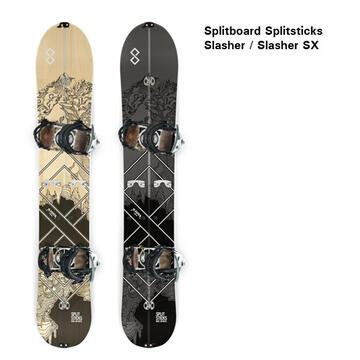 Splitboard Splitsticks Slasher