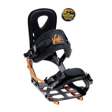 light splitboard binding with some good features