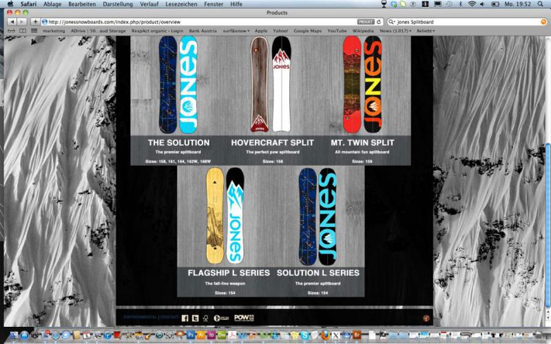 Splitboards Jones