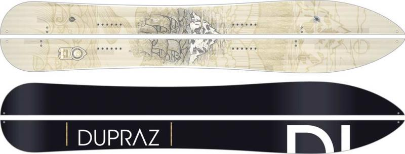 Dupraz Splitboard D Tour Design 13-14