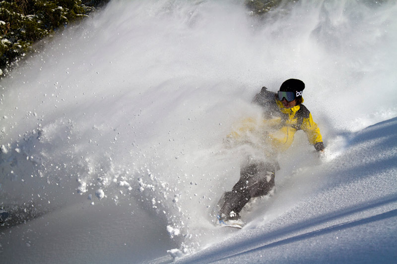 Jeremy Jones riding his Splitboard