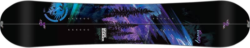 Never Summer Splitboard Raven 13-14 Top