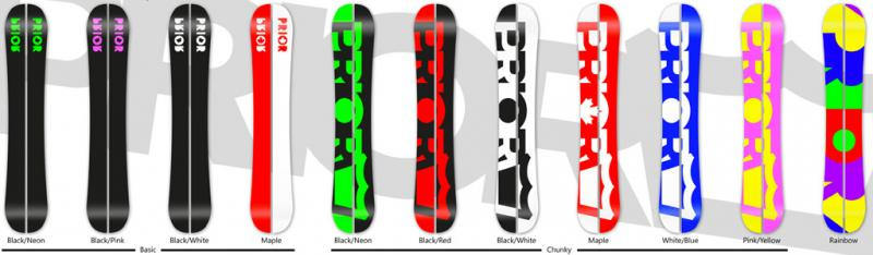 Prior Splitboard AMF Designvarianten Base 13-14