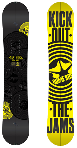 Rome SDS Double Agent Splitboard