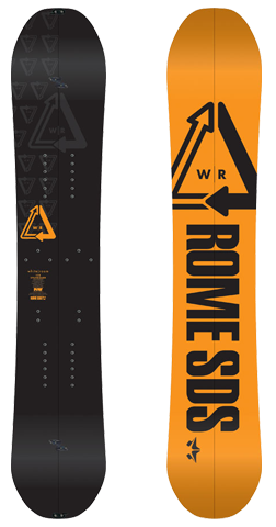 Rome SDS Whitroom Splitboard