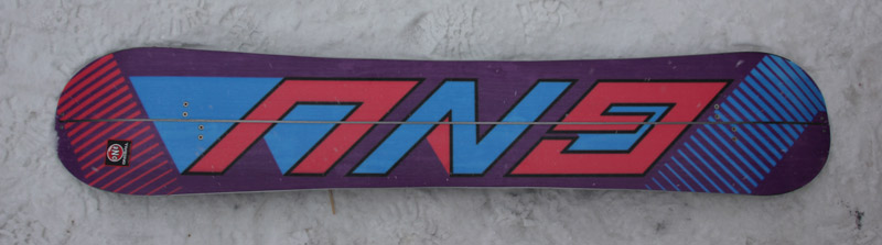 Splitboard Gnu The Beauty base 14-15