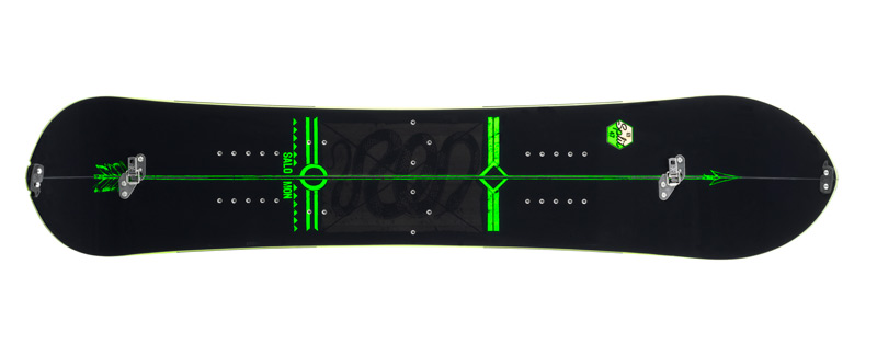 Splitboard Salomon Derby Design 13-14