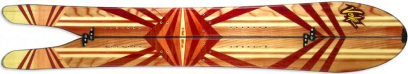 Splitboard Voile V-Tail Design Top 13-14